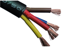 Manufacture VV copper single core cable 1KV PVC Insulation PVC Sheath Electrical power Cable