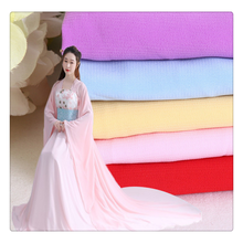 100 polyester colorful stretch chiffon fabric for dress