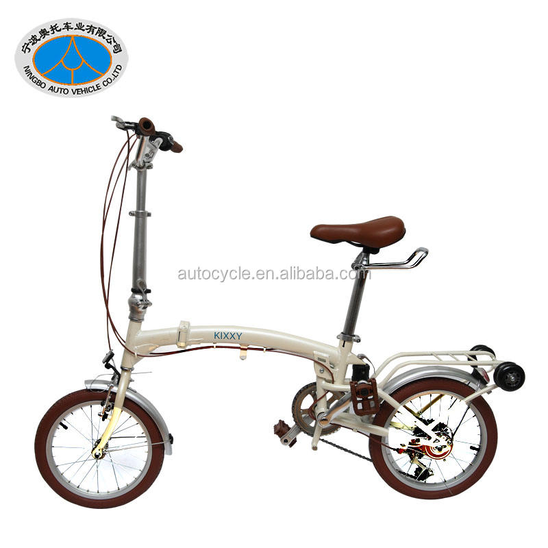 wholesale high quality lightweight aluminum folding bike made by chinese factory
