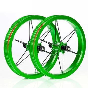 Lightest 12'' Bearing Type colorful balance bike wheels 12inch
