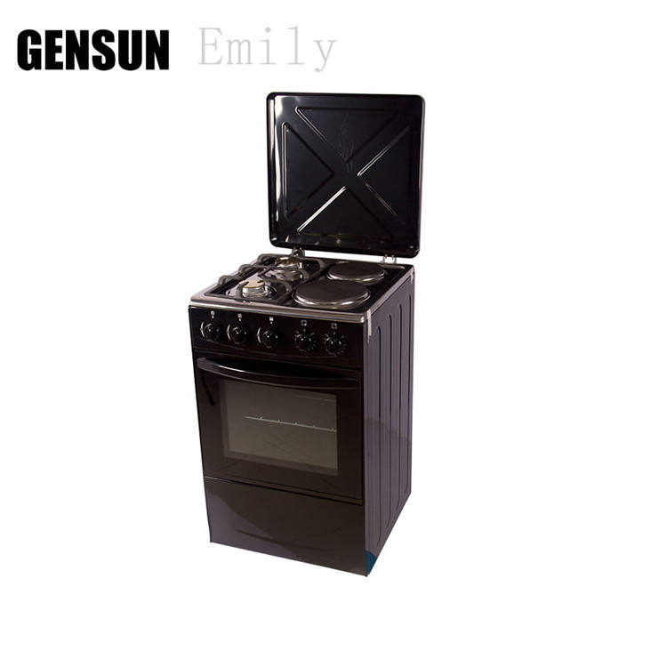 4 burners free standing gas cooker oven parts for wholesale
