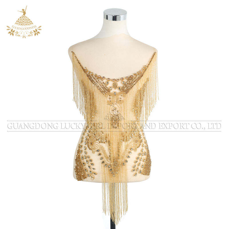 wholesale iron on rhinestone appliques beaded stone applique bodices designs for garment dresses DRR-112
