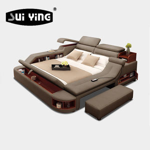 New Arrival high quality luxury modern multifunctional bedroom furniture A635B