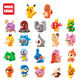 Factory 22 different diy pokemon go plastic nano block toy pokemon mini figures