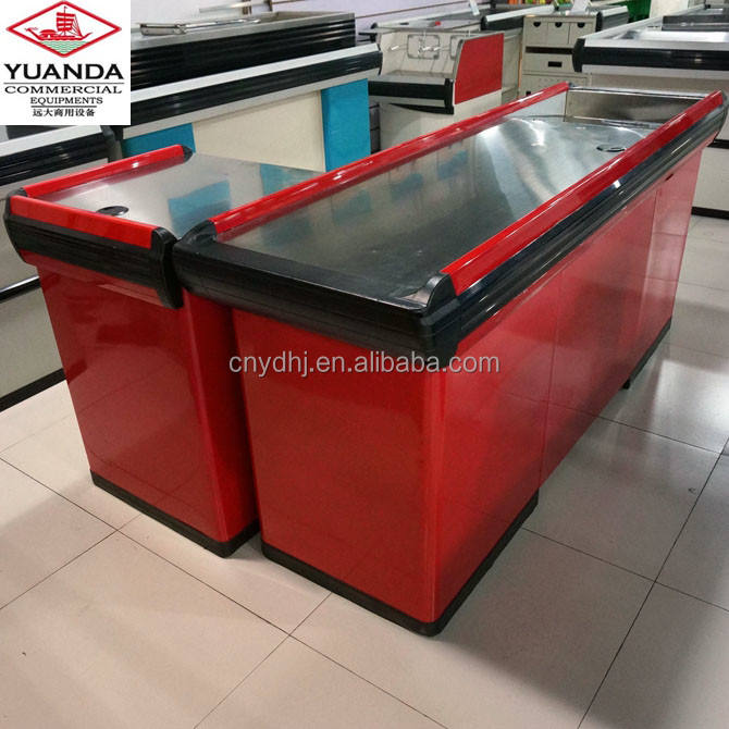 factory directly sale red cheap price supermarket store shop cash counter