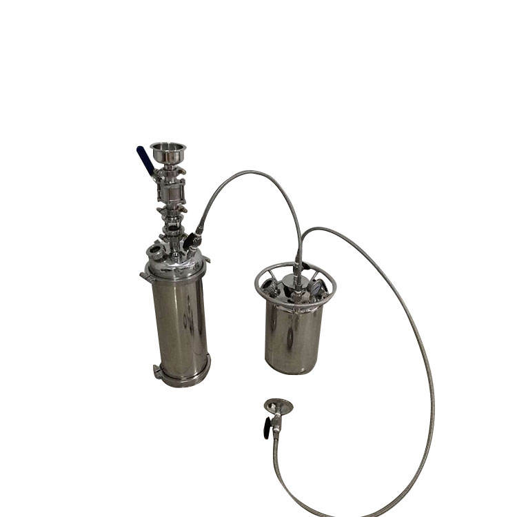 Stainless steel bho super critical co2 closed loop extractor