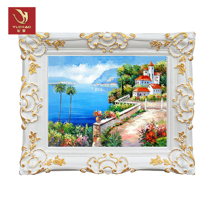 room hotel decor frame carved mirror photo frame