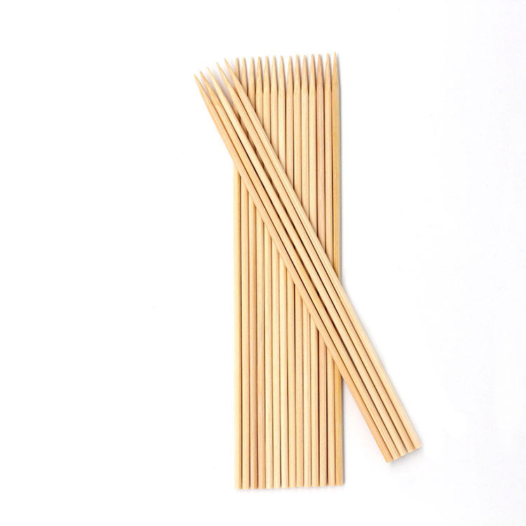 Wholesale 40 cm round bamboo skewer manufacturers