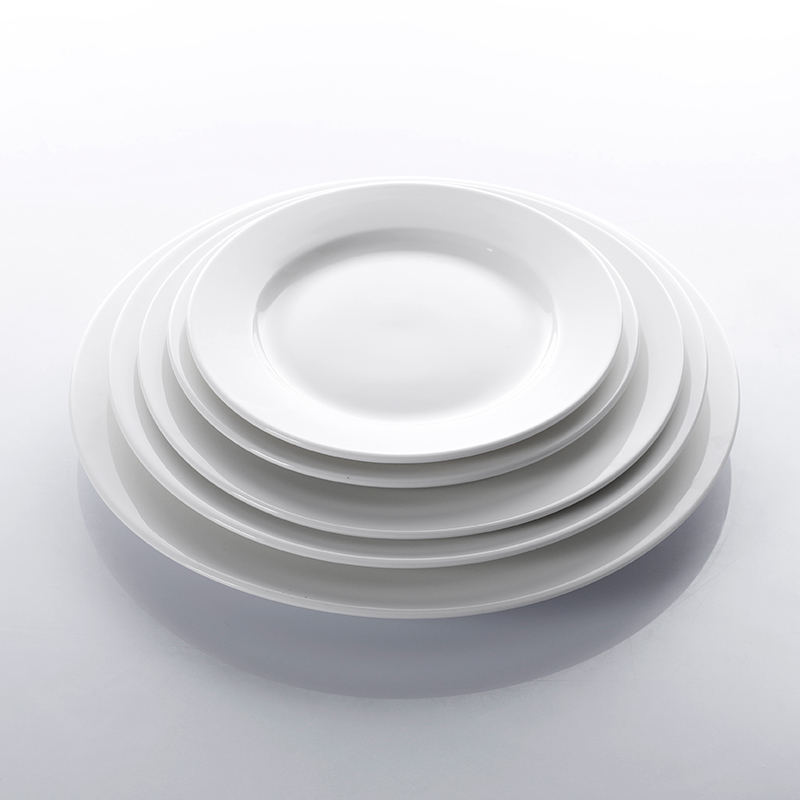 Customized China Dinner Restaurant Ceramic Dish Set, Dishes Plates Ceramic Dinner/