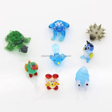 Handmade murano miniature lampword glass animals figurine wholesale