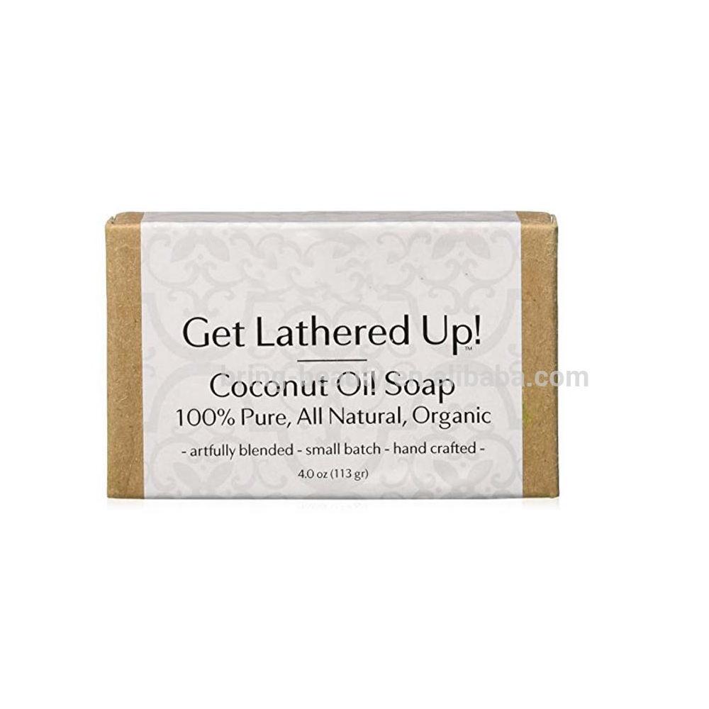 OEM/ODM Virgin Organic Coconut Oil Soap with Private Label