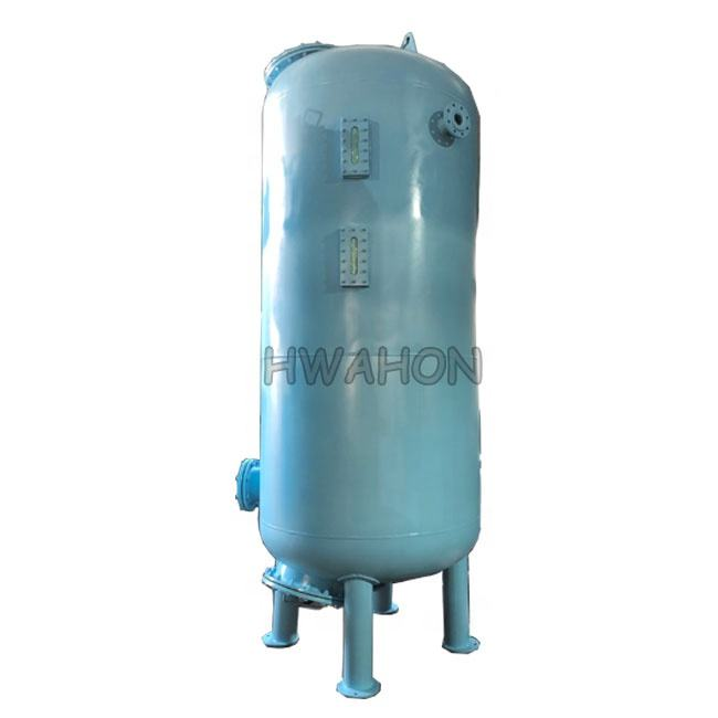 Industrial stainless steel pressure sand filter tanks sand / activated carbon filter media for water treatment