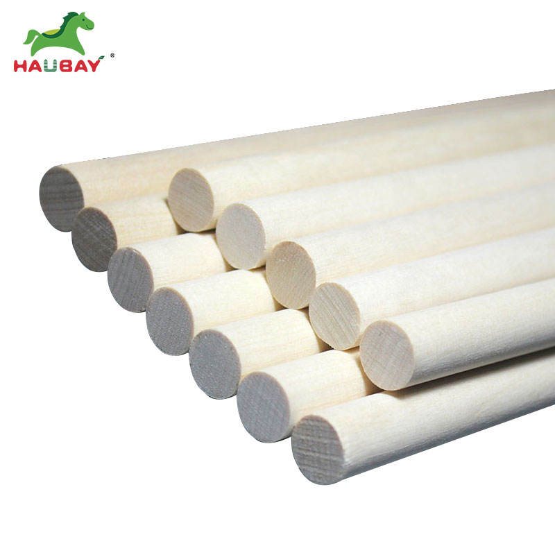 """Make Scroll Invitations Natural Birch Wood Dowel Rods 1//4/"""" x 6/"""" Pack of 50"""