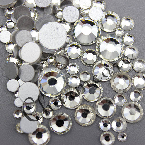 Nail Decoration Stick Stone ss34 Clear Crystal Rhinestone Factory Supply