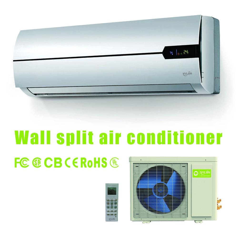 DC inverter mini split air conditioner high density filter cooling and heating wifi function type