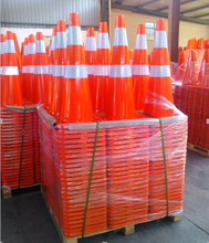 Manufacture Top Sale 70 cm Road Cone Flexible PVC Safety Used Traffic Cone