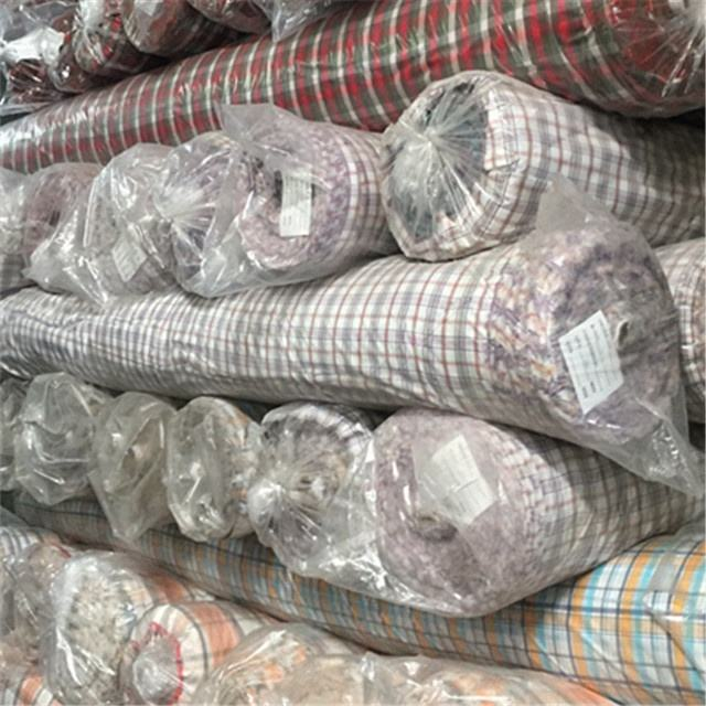 100%Cotton Yarn Dyed Checks Fabric with spandex
