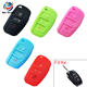 AS068001 Car Key Silicone Remote Holder Case Cover for AUDI A2 A3 A4 A6 TT Q7 R8 S4
