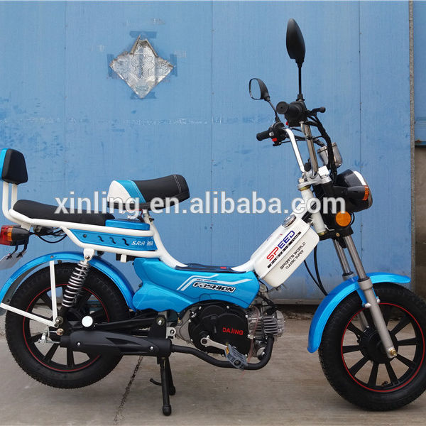 50CC off road street motorcycle cheap motorcycle 2016 NEW DESGIN CLASSIC scooter 49CC 50CC EEC MOPED PEDAL MOTORCYCLE