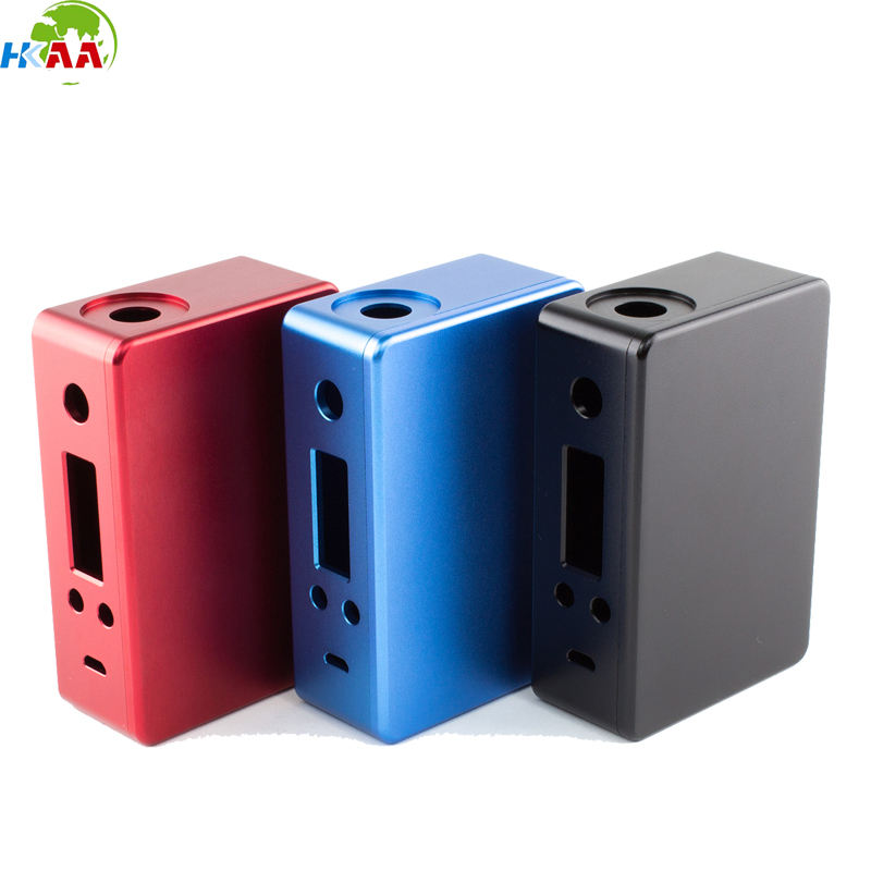CNC milled anodized color aluminium outdoor hidden camera enclosure