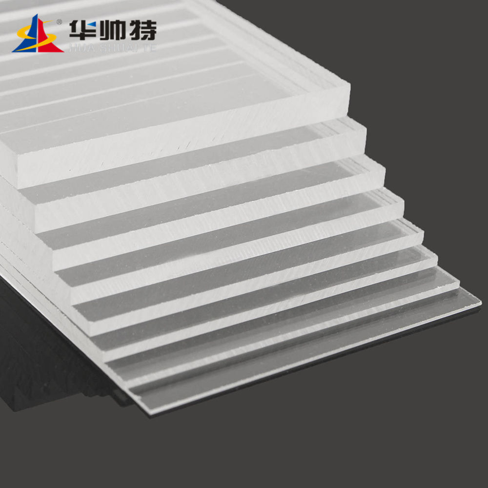 China supplier Double side frosted acrylic sheet with Good Quality produced by Huashuaite
