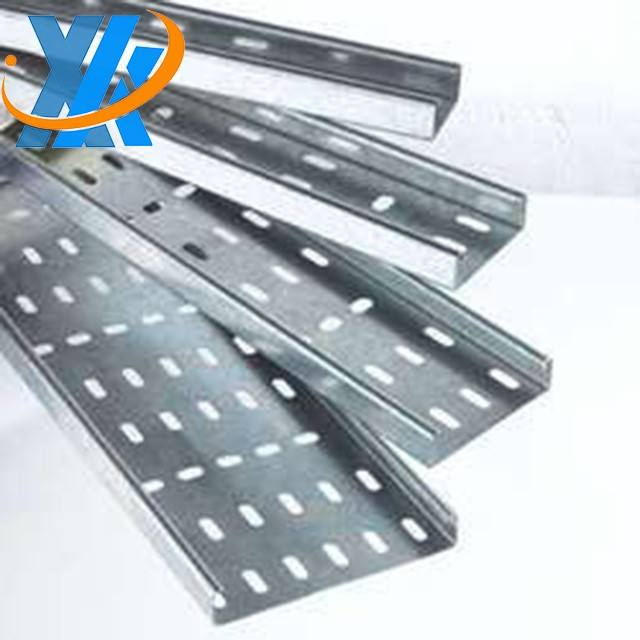 High quality perforated cable tray/cable trunking/ladder cable tray