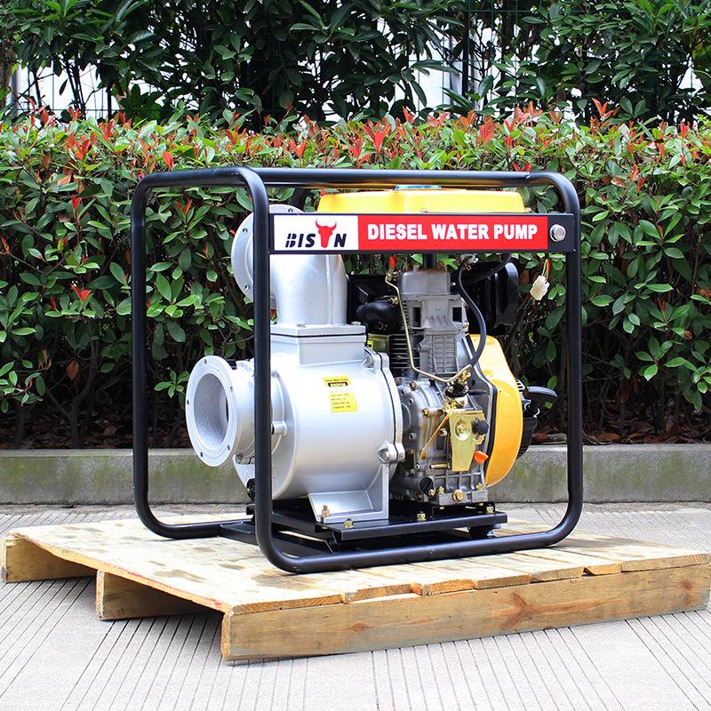 BSDWP60 BISON China Taizhou Hot Sale Low Pressure 6 inch Diesel Engine Driven Water Pump