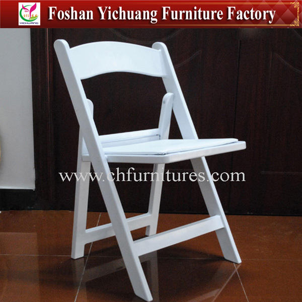 Folding Chair [ Chairs ] Folding White Chair Avant-Garde Plastic White Wedding Folding Chairs YC-AF01