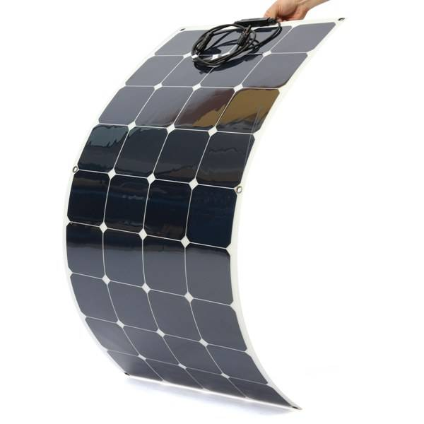 diy solar panel kits 120W sunpower flexible solar panel 120w flexible solar panel for boats