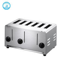 Hot Sell Low Price 4 Slince Electric Toaster /vending machine toast