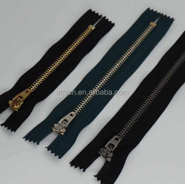HIGH QUALITY CHEAP PRICE 4.5YG 4YG, 5YG METAL ZIPPER FOR JEANS PANT