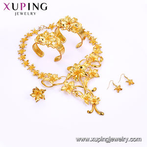 201805 24k gold jewellery dubai wholesale jewelry set price  costume gold jewelry fashion gold jewelry set