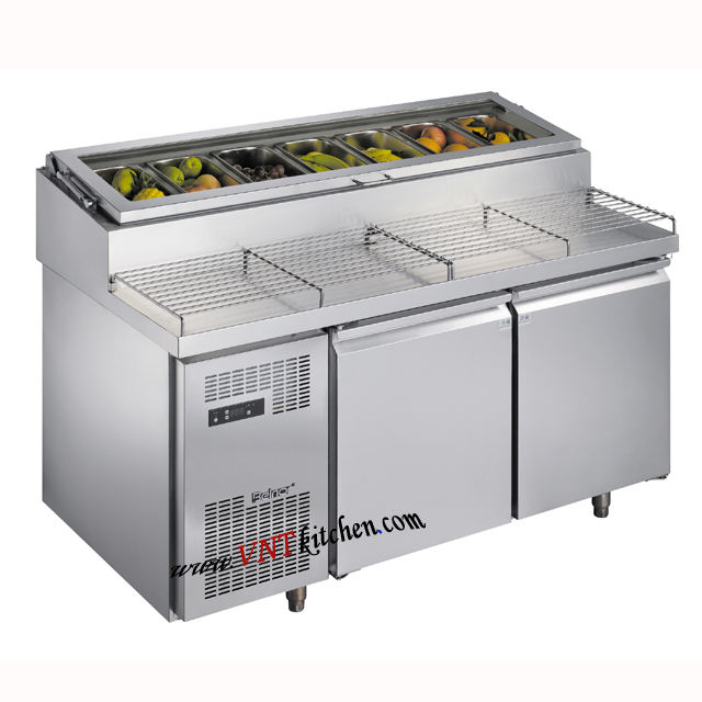 Restaurant Kitchen Heavy Duty Stainless Steel Work Table/Work table pizza freezer bench storage cabinet kitchen