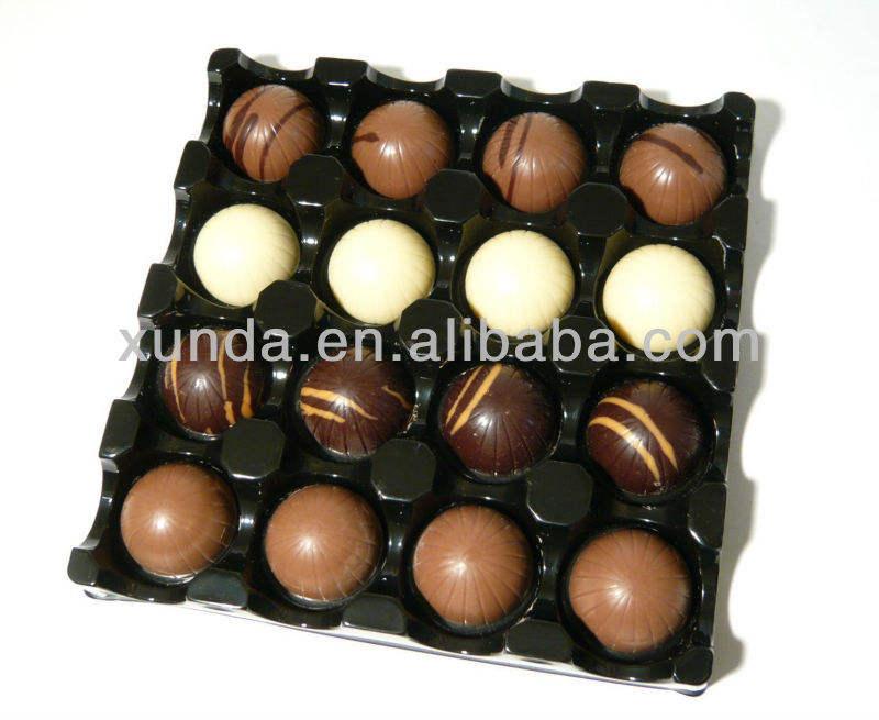 пластиковый лоток для упаковки конфет