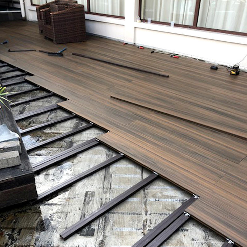 Wpc Decorazione Bordo Pe Outdoor Decking