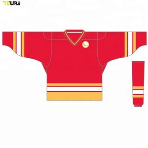 oem custom sublimated cheap wholesale blank hockey jerseys