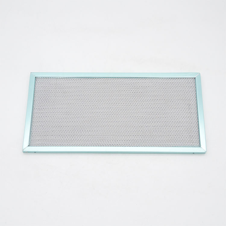 Aluminum mesh grease range hood filter types sizes for smoke