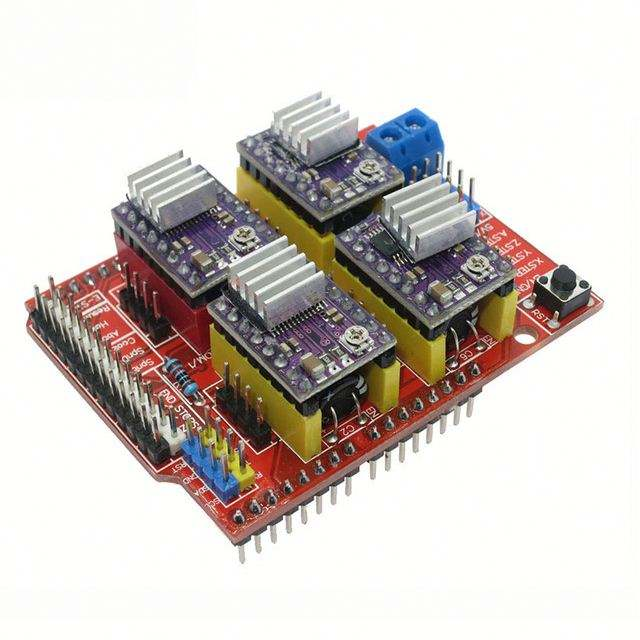 Cnc Perisai V3 Ukiran Mesin 3D Printer DRV8825 Driver Expansion Board