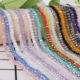 Hot Sale Multi Color 2mm 195PCS Bicone Crystal Beads Cut Faceted Round Glass Beads DIY Bracelet Necklace For Jewelry Making