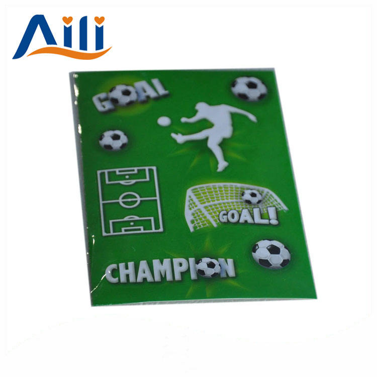 Customize creative one color printing football softcover notebook