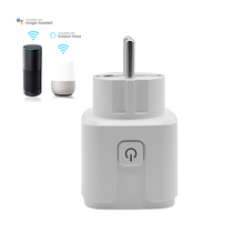 Wi-Fi Smart House Plug and Socket with Support Both Apple Phone Home Amazon Alexa for iOS EU Smart Plug