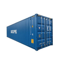 New 40ft HC Shipping Container with Wheels