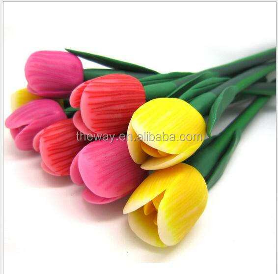 Handmade Flower Clay ball pen Customized logo available Flower clay pen