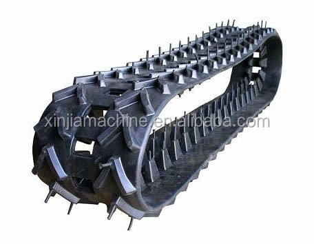 VIO35 VIO55 Mini Excavator rubber tracks