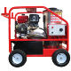 Portable diesel hot water high bar psi high pressure washer