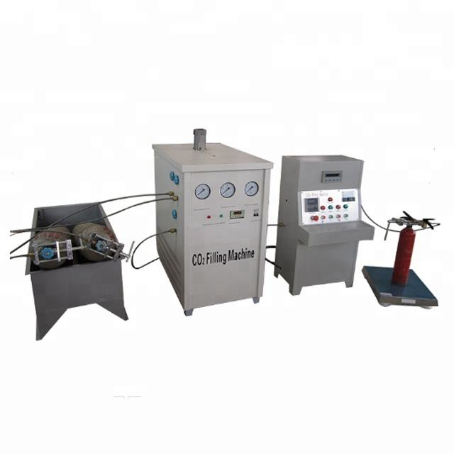 Fire Fighting Using automatic carbon dioxide Popular filling refill Machine co2 fire extinguisher refilling machine