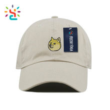 Personalized dog doge embroidered dad hat wide brim sports outdoor baseball cap hats