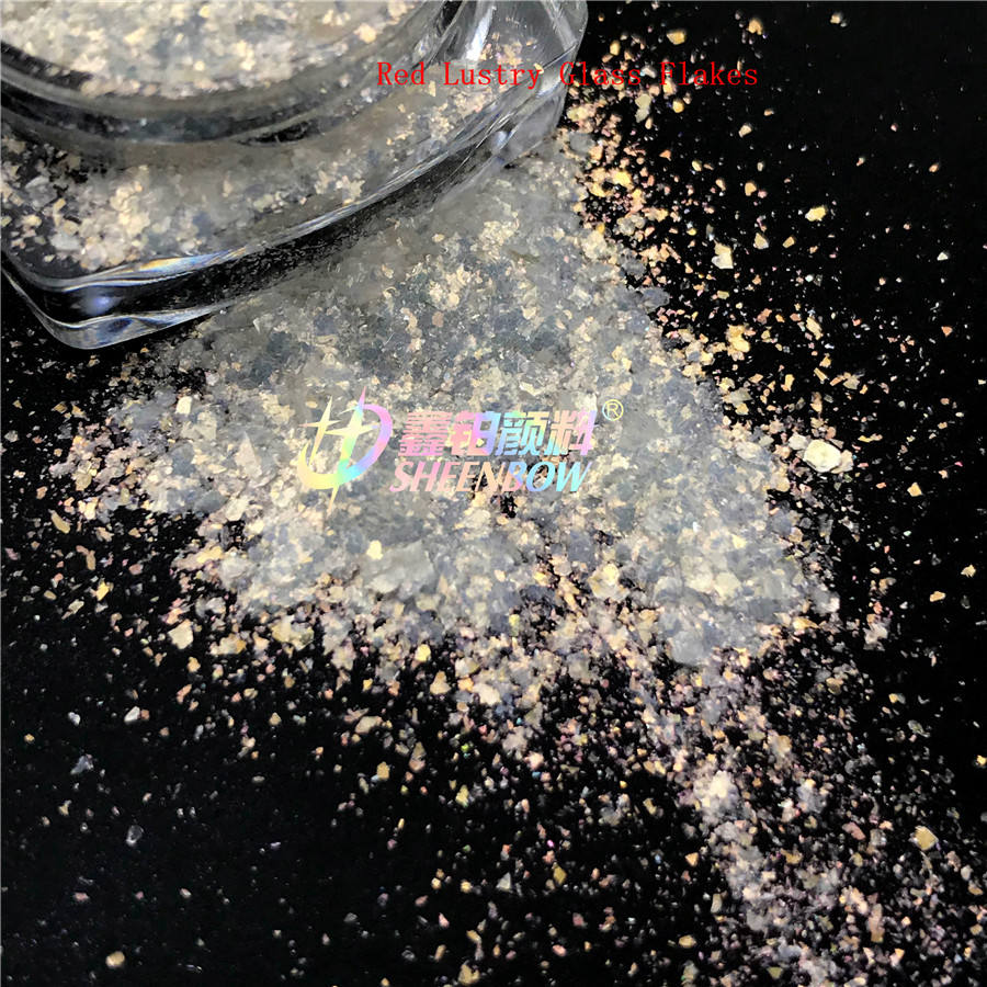 Sheenbow Diamond Lustry Glass Flakes for Cosmetics Diamond Luster Pearlescent Pigment