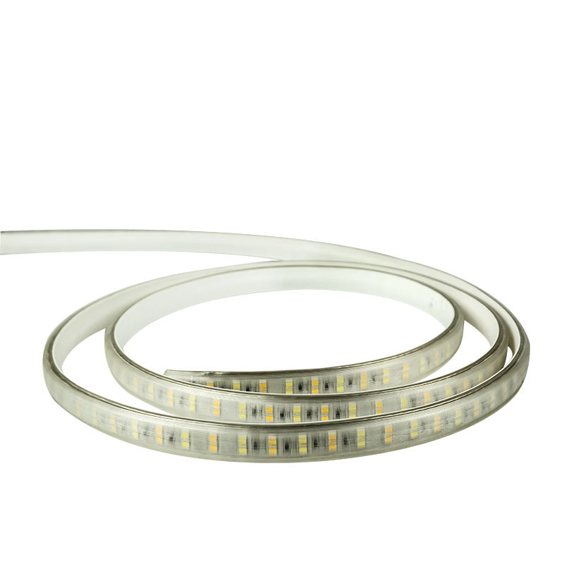 En gros transparent en plastique flexible tube 12 volts led bandes lumineuses