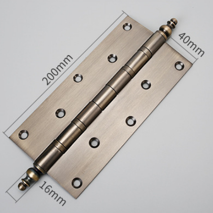 8*4*3 inch hinge stainless steel 304/201/316 material 8 inch 200*102*3.0mm 4 BB anti-corrsion door hinge